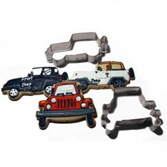 Exclusive Set of Two Cookie Cutters by All Things Jeep