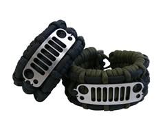 Closeout-Survival Bracelet with JK Grille - Medium Black Only