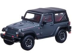 Collectible Jeep Wrangler Rubicon in Anvil Gray 1:43