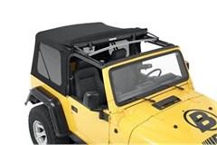 Supertop NX Complete Soft Top Kit TJ-Black Twill