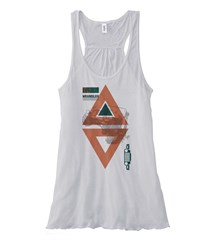 Tribal Jeep Wrangler TJ Flowy Tank, White