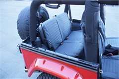 Rampage Rear Seat Covers for Jeep Wrangler TJ (1997-2002)