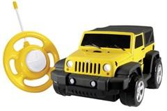 Kid Galaxy My 1st RC Jeep Wrangler, Yellow