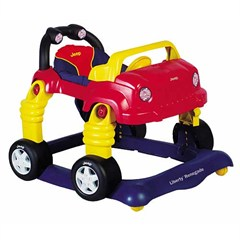 Jeep® Liberty® Renegade Baby Walker - Navy/Red/Yellow