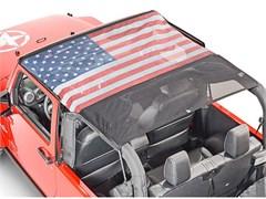KoolBreez Mesh Full Top American Wrangler JK 2D 2007-2009 by VDP