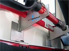 LiteGrip Aluminum Shovel/Axe Mount for 4 door Jeep JK 2007-2010
