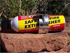 """Closeout LiteGrip® """"FireGrip"""" Billet Aluminum Fire Extinguisher Bracket"""