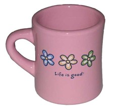 The Life is Good Diner Mug is the same old fashioned, heavy duty, ceramic model made famous in American diners since the early 's.