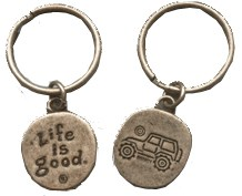 """Life is Good """"Native Offroad"""" Keychain"""