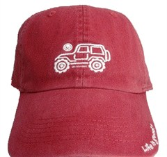 "Life is Good Chill Cap -Native Offroad ""Barnyard Red"""