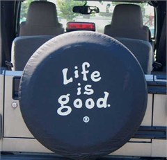 CLOSEOUT - Life is Good Tire Cover Coin