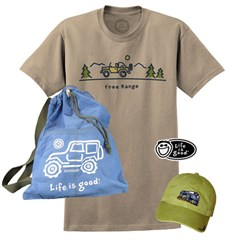 Life is good Offroad Gift Set for Men