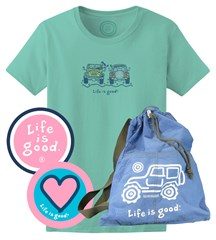 Life is good Offroad Gift Set for Women