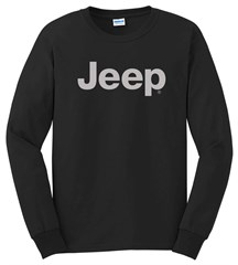 Long Sleeve T-Shirt with Light Gray Jeep Logo