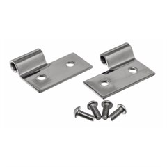 Lower Door Hinge Brackets for Jeep Wrangler 1976-2006 in Stainless Steel by R&age  sc 1 st  All Things Jeep & All Things Jeep - Lower Door Hinge Brackets for Jeep Wrangler 1976 ...