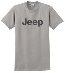 Men's T-Shirt with Dark Gray Jeep Logo