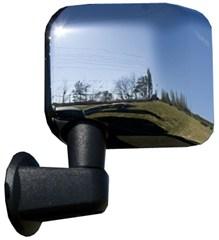 Mirror Cover Pair Wrangler JK 2007-2017 Chrome Rugged Ridge