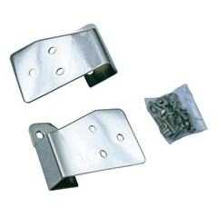 Stainless Mirror Relocation Brackets for Jeep Wrangler TJ and LJ