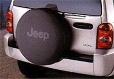 CLOSEOUT - JEEP Logo Deluxe Anti-Theft Tire Cover