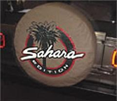 Jeep Sahara Tan Tire Cover for Wrangler Saharas