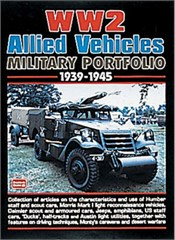 WW2 Allied Vehicles Military Portfolio 1939-45 Soft Cover Book