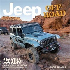 Jeep Off-Road 2018, 16 Month Wall Calendar