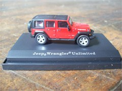 Jeep  Wrangler Unlimited Rubicon 1:87 Scale Diecast Model