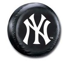 New York Yankees MLB Tire Cover - Black Vinyl