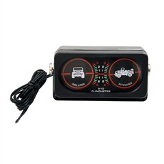Off-Road Clinometer with Light