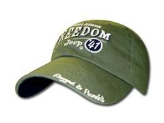 Jeep Freedom Jeep 41 Hat  (Sage Green)