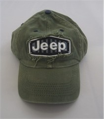 Jeep Grille, You Wouldn't Understand Olive Hat
