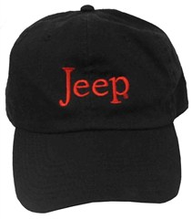 Jeep® Washed Hat (Black)