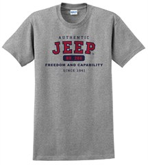 Authentic Jeep® T-Shirt - Grey