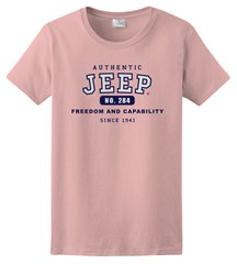 Pink Authentic Jeep® T-Shirt, Short sleeve