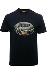 CLOSEOUT (Med. Only) - Jeep - Test the Limits - 1941, Men's Navy T-Shirt