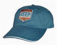 Closeout Jeep Property Hat, Est. 41 W-11, Blue Denim