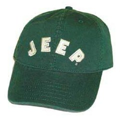 Closeout Jeep Collegiate Baseball Hat (Green)