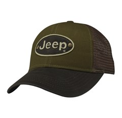 Jeep Baseball Hat: Jeep Legend Patch Hat in STONE
