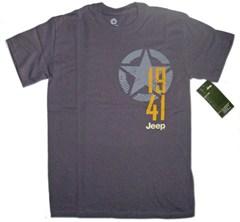 Granite Grey Men's Jeep Star/1941 Tee-Shirt