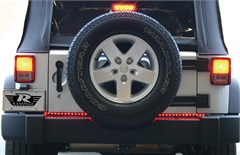 "49"" Rampage LED Tailgate Light Bar w/brake and turn signals for Jeeps"