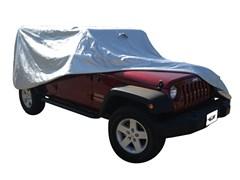 Car Cover w/ Door Flaps Wrangler JK 4D 2007-2017 Waterproof