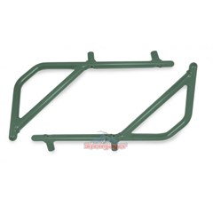 Rear Rigid Grab Handle for Wrangler 2007-2018 2DR JK Light Green by Steinjager