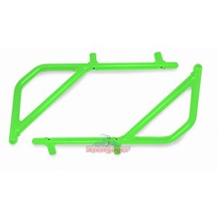 Rear Rigid Grab Handle for Wrangler 2007-2018 2DR JK Neon Green by Steinjager
