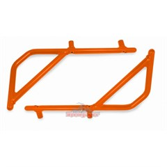 Rear Rigid Grab Handle for Wrangler 2007-2017 2DR Orange by Steinjager