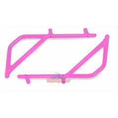 Rear Rigid Grab Handle for Wrangler 2007-2018 4DR JKU in Pink by Steinjager