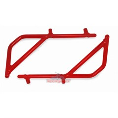 Rear Rigid Grab Handle for Wrangler 2007-2018 4DR JKU in Red by Steinjager