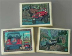 Jeep Cards: Set of 3 Boxed Set