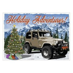 Jeep Holiday Card Holiday Adventures, Boxed Set of 10