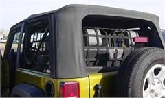 3 Piece Net Kit for 2 Door Jeep Wrangler JK - Rear & Side Window