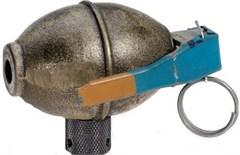 BombNob- WWII Lemon Grenade Jeep Shift Knob